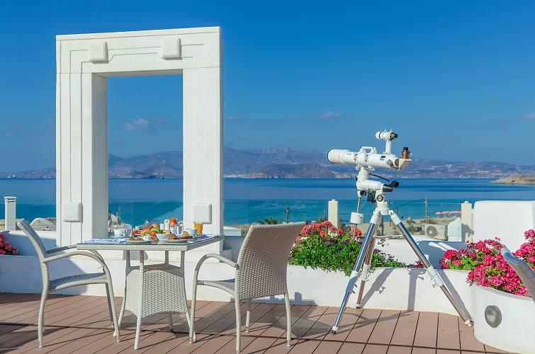 Naxos Island Hotel Agios Prokopios Beach In Naxos Island